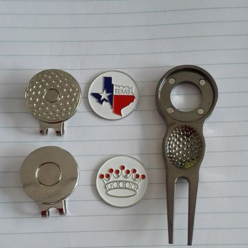 45aeac11478 Product name   blank golf hat clips ball marker  ball markers divot tools  magnetic